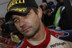 Le vainqueur et champion Sébastien Loeb