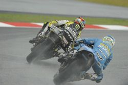 Colin Edwards, Monster Yamaha Tech 3, Loris Capirossi, Rizla Suzuki MotoGP