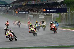 Parade lap: Randy De Puniet, LCR Honda MotoGP