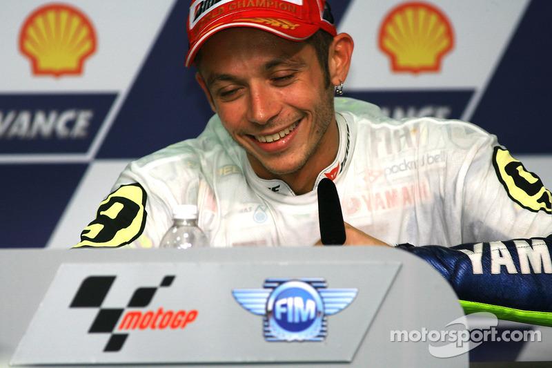 Post-race persconferentie: Valentino Rossi, Fiat Yamaha Team