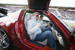 Boris Becker enters the new SLS AMG