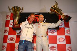 Prize giving party: Renaud Kuppens and Bas Leinders