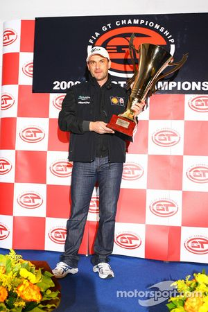 Prize giving party: FIA-GT GT1 champion Michael Bartels
