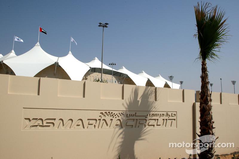 Het nieuwe Abu Dhabi Yas Marina Circuit