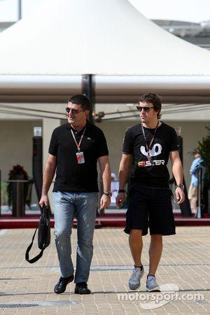 Luis García Abad, Gerente de Fernando Alonso, Fernando Alonso, Renault F1 Team