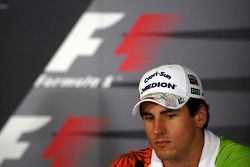 FIA press conference: Adrian Sutil, Force India F1 Team