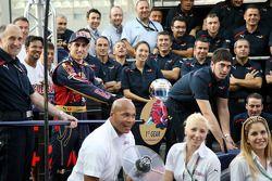 Franz Tost, Scuderia Toro Rosso, et Sebastien Buemi, Scuderia Toro Rosso