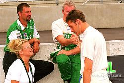 Greg Moore, Liisa Tracy & Paul Tracy
