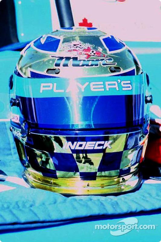 Helmet of Greg Moore