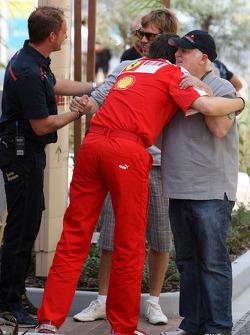 Massimo Rivola Scuderia Ferrari, Norbert Vettel, Father of Sebastian Vettel