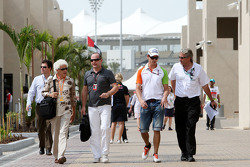 Jorge babası, Adrian Sutil, Force India F1 Team, Adrian Sutil, Force India F1 Team
