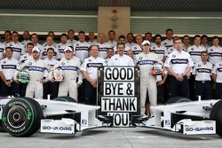Nick Heidfeld, BMW Sauber F1 Team, Christian Klien, piloto de pruebas, BMW Sauber F1 Team, Willy Ram