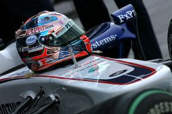 Casco de Robert Kubica, BMW Sauber F1 Team