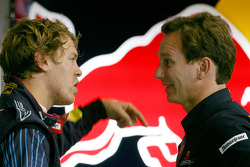 Sebastian Vettel y Red Bull Racing, Christian Horner, Red Bull Racing, Sporting Director