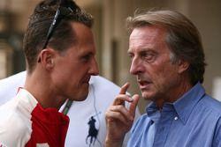 Michael Schumacher , Scuderia Ferrari et Luca di Montezemolo, Scuderia Ferrari