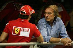 Felipe Massa, Scuderia Ferrari et Luca di Montezemolo, Scuderia Ferrari