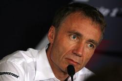 Bob Bell, directeur Renault F1