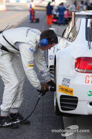 Rahal Letterman Racing au travail
