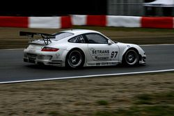 #97 Brixia Racing Porsche 911 GT3 RSR: Emmanuel Collard, Martin Ragginger