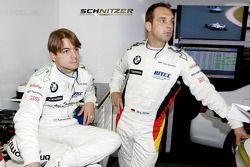 Augusto Farfus, BMW Team Germany et Jorg Muller, BMW Team Germany