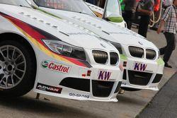 Voiture de Jorg Muller, BMW Team Germany & Augusto Farfus, BMW Team Germany