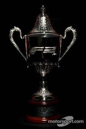 F2 Championship 2nd place trophy