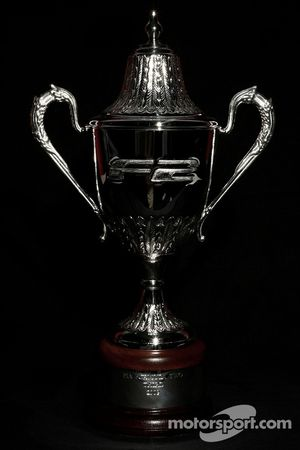 F2 Championship 3rd place trophy