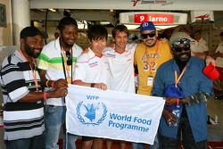 Kamui Kobayashi, Toyota F1 Team, Jarno Trulli, Toyota F1 Team en the Wailers