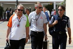 McLaren, Martin Whitmarsh, Director Ejecutivo, Adam Parr, Williams F1 Team