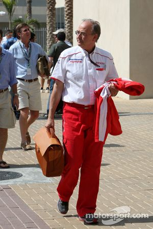 John Howett, président de Toyota F1 Team