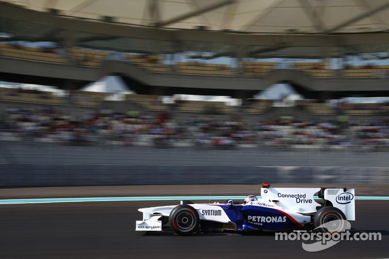 Robert Kubica, BMW Sauber F1 Team, GP Abu Zabi 2009