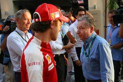 Luca Baldisserri, Director de operaciones en tierra y Presidente de la FIA de Jean Todt