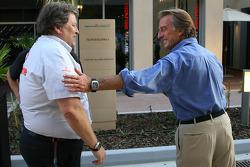 Norbert Haug, Mercedes-Benz de Director deportivo con Luca di Montezemolo, Scuderia Ferrari, Preside