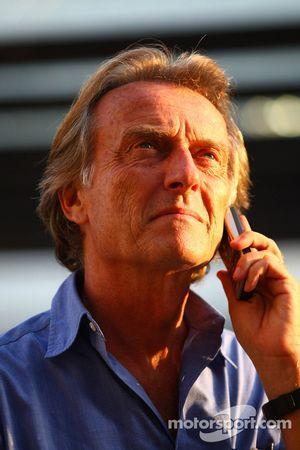 Luca di Montezemolo, president Ferrari