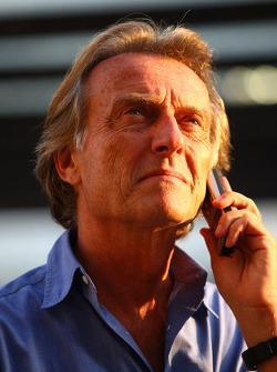 Luca di Montezemolo, Scuderia Ferrari, Presidente de FIAT y Presidente de Ferrari