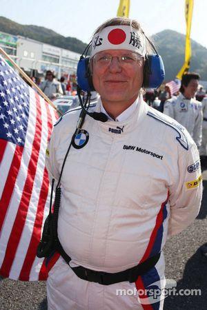 Membre de l'équipe BMW Rahal Letterman Racing