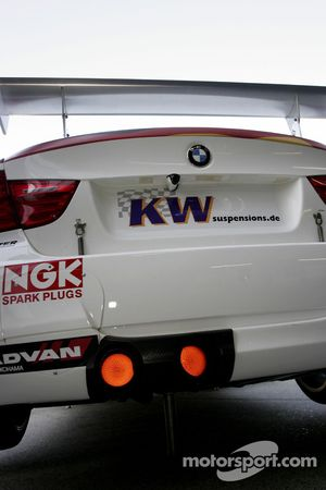 Exhaust of Jorg Muller, BMW Team Germany, BMW 320si