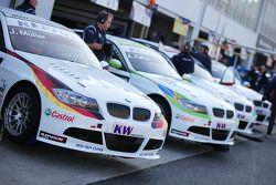 Jorg Muller, BMW Team Germany, BMW 320si, Augusto Farfus, BMW Team Germany, BMW 320si, Alex Zanardi,