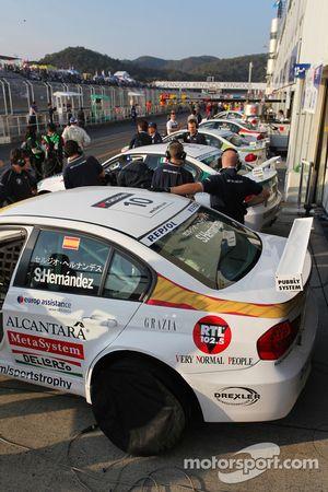 Sergio Hernandez, BMW Team Italy-Spain, BMW 320si