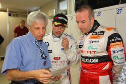 Fabio Ravaioli, Andy Priaulx, BMW Team UK et Tom Coronel, Sunred Engineering