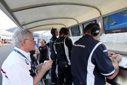Arrêt aux stands pour le BMW Team Germany
