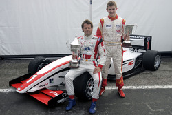 Andy Soucek (Champion F2 2009) et Richard Plant (Champion FPA 2009)