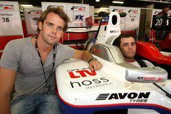 Andy Soucek avec Fonsi Nieto