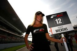 La pit girl de Robert Wickens