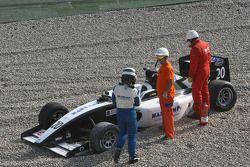 Jens Hoing abandonne au premier tour