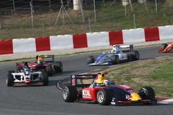Mikhail Aleshin leads Tristan Vautier