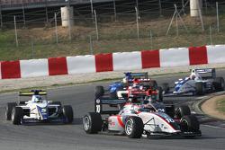 Nicola De Marco leads Tom Gladdis and Alex Brundle