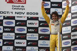 Tristan Vautier sur le podium