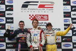 Mikhail Aleshin, Andy Soucek and Tristan Vautier