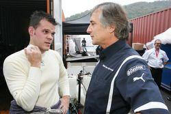 Dirk Muller et Charly Lamm, Team Manager, BMW Team Germany / Schnitzer Motorsport